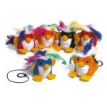 Billipets 吊掛小烏發聲貓玩具 (顏色隨機) (NS-5229) 貓咪玩具 其他 寵物用品速遞