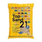 Top-Sand-21-豆腐貓砂-日本Top-Sand-21-α-玉米雙通豆腐貓砂-6L-豆腐貓砂-豆乳貓砂-寵物用品速遞