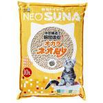 NEO-SUNA-豆腐貓砂-日本NEO-SUNA大包裝通心豆腐貓砂-10L-黃色-豆腐貓砂-豆乳貓砂-寵物用品速遞
