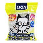 LION-Pet-礦物貓砂-日本獅王LION-Pet-強勁消臭礦物砂-5L-礦物貓砂-寵物用品速遞