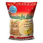 貓咪星球-礦物貓砂-貓咪星球雙倍增量-高級凝結礦物貓砂-檸檬味-10L-礦物貓砂-寵物用品速遞