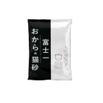 豆腐貓砂 富士一 天然極簡豆乳豆腐貓砂 活性碳 2L - 原裝行貨 貓砂 豆腐貓砂 寵物用品速遞