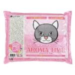 紙貓砂 日本SANMATE Aroma Time 香薰紙貓砂 12.5L 貓砂 紙貓砂 寵物用品速遞
