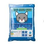 紙貓砂 日本SANMATE Blue Time 抗菌易溶紙貓砂 6.5L 貓砂 紙貓砂 寵物用品速遞