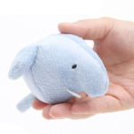 狗狗玩具-日本Pets-Route-狗狗玩具-大動物園粉藍大象-一個入-狗狗-寵物用品速遞