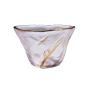 酒品配件-Accessories-日式加厚錘目紋清酒杯-2個入-描金一葉-清酒杯