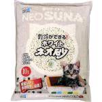 紙貓砂 日本NEO SUNA白沙紙砂 10L (淺灰色) 貓砂 紙貓砂 寵物用品速遞