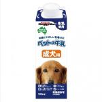 日本DoggyMan 成犬用 牛乳牛奶 250ml 狗狗保健用品 營養保充劑 寵物用品速遞
