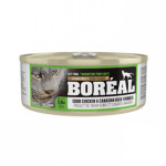 BOREAL 全貓罐頭 雞肉及鴨肉配方 80g (綠色) (002911) 貓罐頭 貓濕糧 Boreal 寵物用品速遞