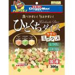 日本DoggyMan 日本國產狗狗小食 骰仔芝士蔬菜方粒 300g 狗小食 DoggyMan 寵物用品速遞