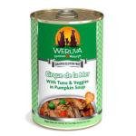 WeRuVa 狗罐頭 經典系列 吞拿魚+蔬菜 Cirque de la Mer 392g (淺綠) (002619) 狗罐頭 狗濕糧 WeRuVa 寵物用品速遞