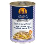 WeRuVa 狗罐頭 經典系列 無骨去皮雞胸肉+雞蛋+火腿 Bed & Breakfast 392g (淺藍) (002636) 狗罐頭 狗濕糧 WeRuVa 寵物用品速遞
