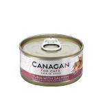 CANAGAN原之選 無穀物貓罐頭 吞拿魚伴三文魚 Tuna With Salmon 75g 貓罐頭 貓濕糧 CANAGAN 原之選 寵物用品速遞