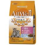 日本Allwell 子貓用 減嘔吐機率配方貓糧 綜合魚味 1.6kg 貓糧 Allwell 寵物用品速遞