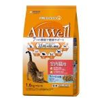 日本Allwell 室內成貓用 減嘔吐機率配方貓糧 綜合魚味1.6kg 貓糧 Allwell 寵物用品速遞