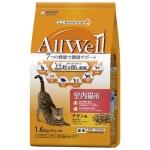 日本Allwell 室內成貓用 減嘔吐機率配方貓糧 雞肉味1.6kg 貓糧 Allwell 寵物用品速遞