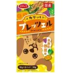 日本SMACK 狗狗百力滋 Dog Pretz 低脂肪 野菜味 30g (橙) 狗小食 SMACK  スマック 寵物用品速遞
