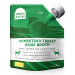 貓犬用小食-Open-Farm-火雞鮮熬骨湯-12fl-oz-貓犬用-OF-BB-T-綠-Open-Farm-寵物用品速遞