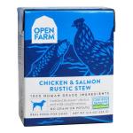 狗罐頭-狗濕糧-Open-Farm-狗濕糧-燉肉配方-走地雞三文魚-12_5oz-OFD-ST-CS-Open-Farm-寵物用品速遞