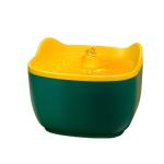 兩隻耳朵 寵物電動自動循環飲水機飲水器 2.5L (黃綠) 貓犬用日常用品 飲食用具 寵物用品速遞