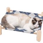 劍麻木柱帆布吊床 一個入 (款式隨機) 貓咪日常用品 床類用品 寵物用品速遞