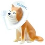 日本直送 狗公仔擺設 被BS電視接收器卡著的狗狗 一枚入 生活用品超級市場 狗狗精品