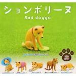 日本直送 狗公仔擺設 憂鬱的秋田犬 一套六隻 生活用品超級市場 狗狗精品