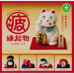 日本直送 公仔擺設 緣起物的繁忙日常 一套五隻 生活用品超級市場 貓咪精品
