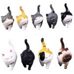 日本直送 貓公仔擺設 磨蹭的貓咪 一套九隻 生活用品超級市場 貓咪精品