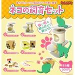 日本直送 貓公仔擺設 養貓必備六件套 一套六隻 生活用品超級市場 貓咪精品