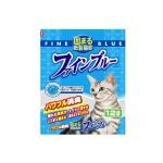 紙貓砂 日本Hitachi Fine Blue 變色消臭紙貓砂 12L 貓砂 紙貓砂 寵物用品速遞