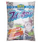 紙貓砂 日本Hitachi Fine White 變色消臭紙貓砂 12L 貓砂 紙貓砂 寵物用品速遞
