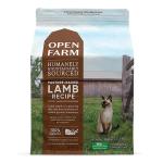 Open Farm 無穀物貓糧 放養羊+蔬菜 8lb (OFLB-8C) 貓糧 Open Farm 寵物用品速遞