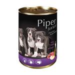 狗罐頭-狗濕糧-Piper-黑鑽狗罐頭系列-幼犬配方-牛仔肉-蘋果-400g-PVJ400-Piper-寵物用品速遞