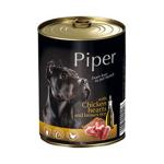 狗罐頭-狗濕糧-Piper-黑鑽狗罐頭系列-成犬配方-雞心-糙米-400g-PCH400-Piper-寵物用品速遞