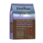 FirstMate 無穀物全貓糧 雞肉+藍莓 4lb 貓糧 FirstMate 寵物用品速遞