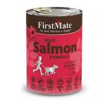 狗罐頭-狗濕糧-FirstMate-無穀物狗罐頭-野生三文魚-Grain-Free-Salmon-Formula-354g-FirstMate-寵物用品速遞