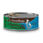 貓罐頭-貓濕糧-FirstMate-無穀物貓罐頭-走地火雞-野生吞拿魚-Free-Run-Turkey-Wild-Tuna-156g-FirstMate-寵物用品速遞