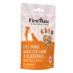 FirstMate 無穀物狗小食 羊肉藍莓曲奇 226g 狗小食 FirstMate 寵物用品速遞