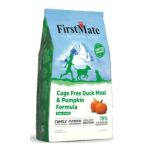 狗糧-FirstMate-無穀物全犬糧-法國鴨-南瓜-5lb-FirstMate-寵物用品速遞