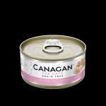 CANAGAN原之選 無穀物貓罐頭 雞肉伴火腿 Chicken with Ham 75g 貓罐頭 貓濕糧 CANAGAN 原之選 寵物用品速遞