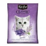 礦物貓砂 Kit Cat 天然凝結貓砂 薰衣草味 10L (KC-003) 貓砂 礦物貓砂 寵物用品速遞