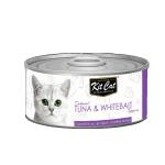 Kit Cat 無穀物貓罐頭 吞拿魚+銀魚 80g (KC-2227) 貓罐頭 貓濕糧 Kit Cat 寵物用品速遞