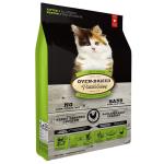Oven Baked 貓糧 幼貓配方 Kitten Fresh Chicken & Fish 2.5lb (綠色) (OBT_C_2.5K) 貓糧 Oven Baked 寵物用品速遞