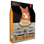Oven Baked 貓糧 老貓或體重控制配方 Senior Fresh Chicken & Fish 10lb (橙色) (OBT_C_10S) 貓糧 Oven Baked 寵物用品速遞