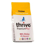 Thrive脆樂芙 無穀物貓糧 鮮雞肉 Premium Plus 90% Chicken 1.5kg (T_CF_C) 貓糧 Thrive 脆樂芙 寵物用品速遞