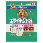 日本DoggyMan 小型犬狗小食 白色潔齒棒 24本 狗小食 DoggyMan 寵物用品速遞
