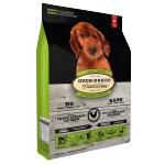 Oven Baked 狗糧 幼犬配方 大粒 Puppy Fresh Chicken & Fish 25lb (綠色) (OBT_25P) 狗糧 Oven Baked 寵物用品速遞