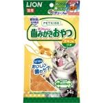 日本獅王LION Pet 管形粒潔齒貓小食 雞肉味 14g 貓小食 其他 寵物用品速遞