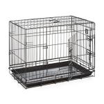 三尺焗漆可摺寵物籠 黑色 (貓犬用) (91x56x66cm) (A1107D) 貓犬用日常用品 寵物籠 寵物用品速遞